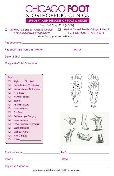 Orthopaedic Prescription Template