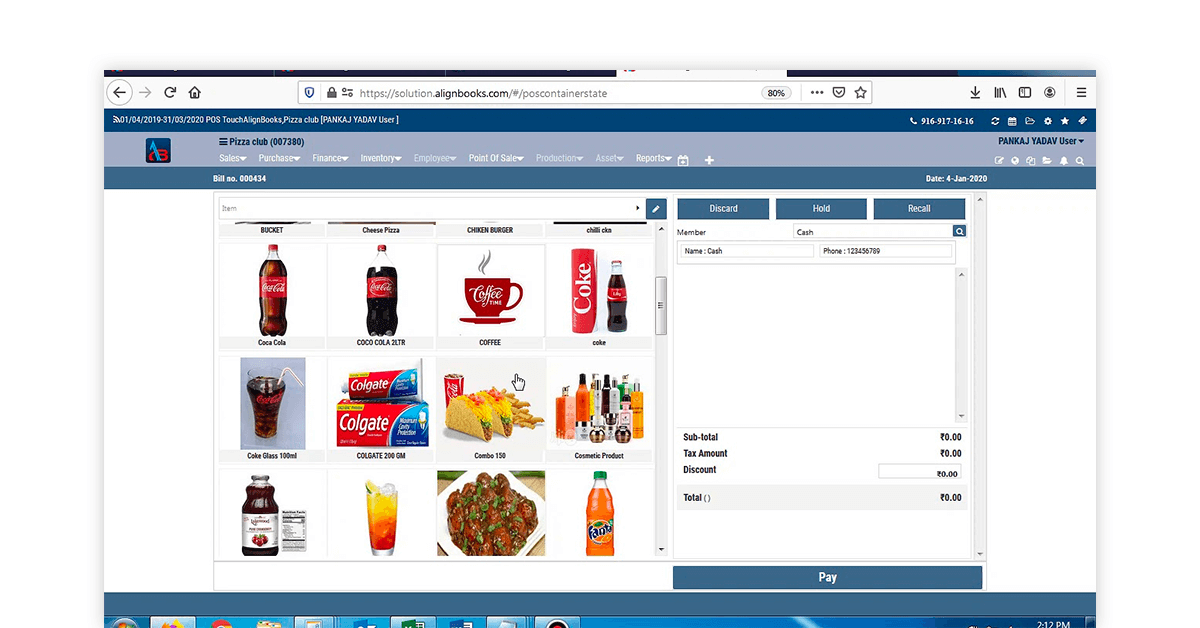 Retail pharmacy software
