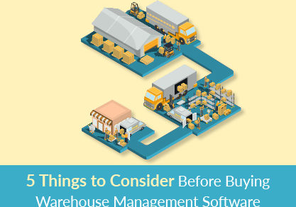 5 Things to Consider Before Buying Warehouse Management Software
