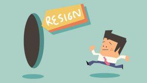 Employee resign