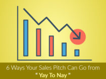 6 Ways Your Sales Pitch Can Go from Yay To Nay
