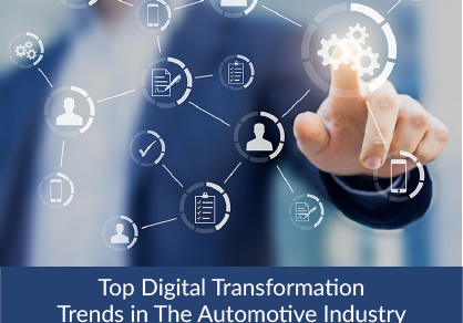 Top Digital Transformation Trends in The Automotive Industry