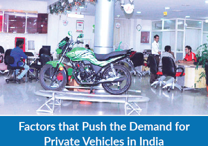 Factors That Push the Demand for Private Vehicles in India