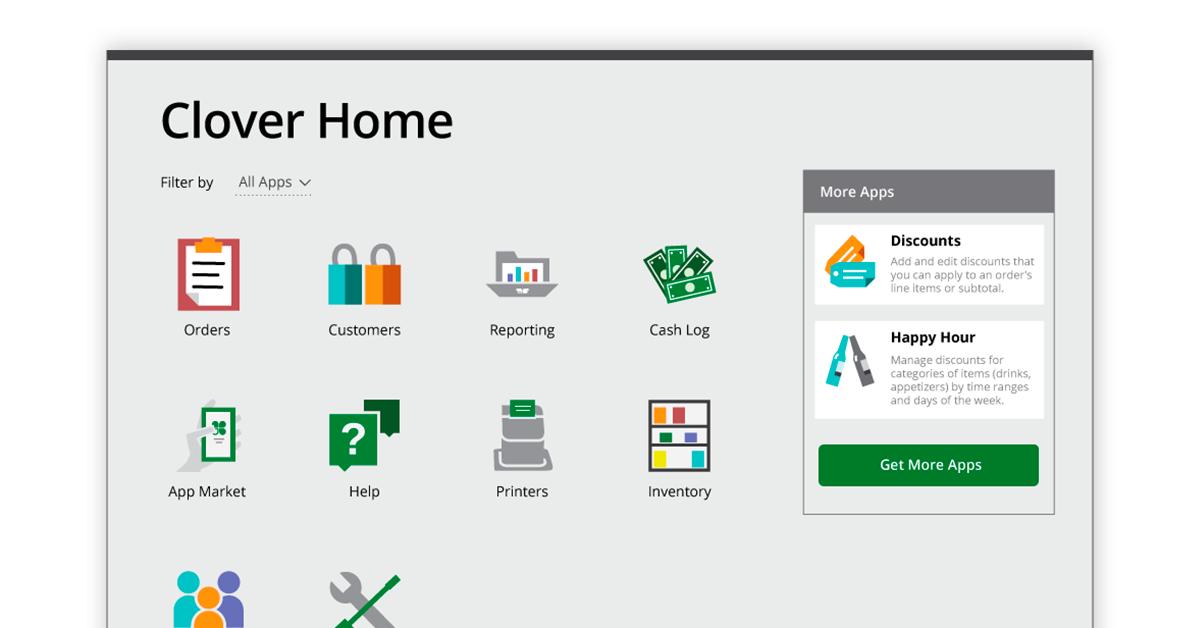 clover restaurant billing software