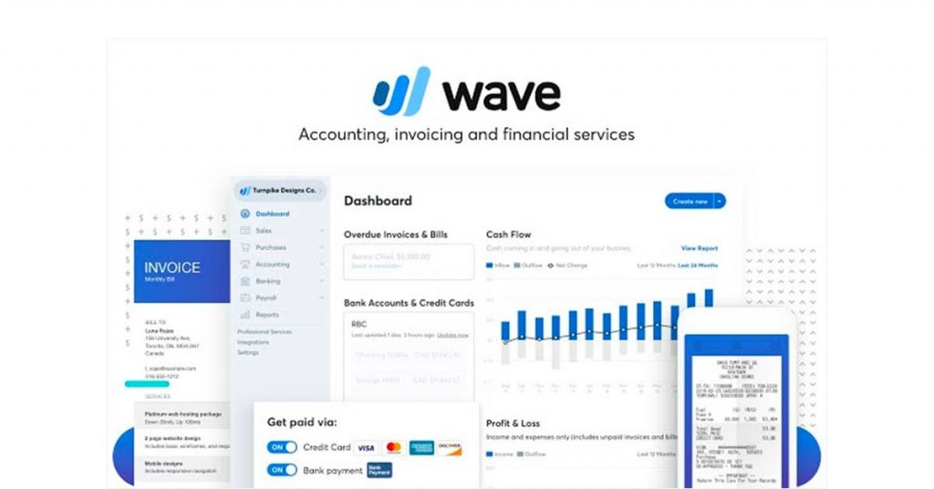 Wave Free invoicing software
