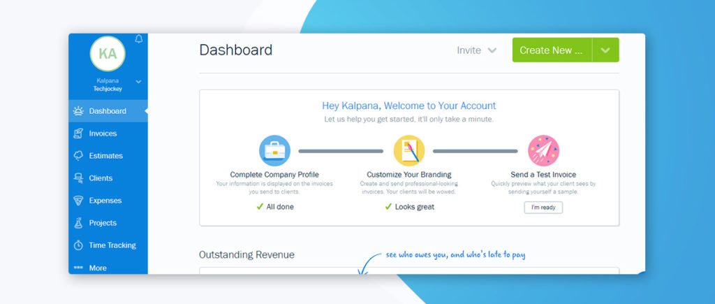 Ease of Use - Dashboard