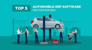 Automobile ERP Software