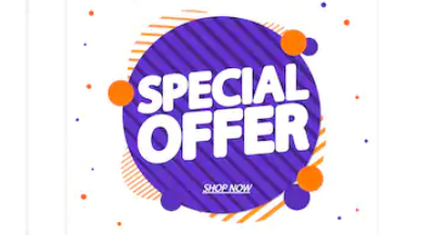 Let it Snow! Let it Snow! Let it Snow! (Rain Discounts and Special Offers for Your Customers)