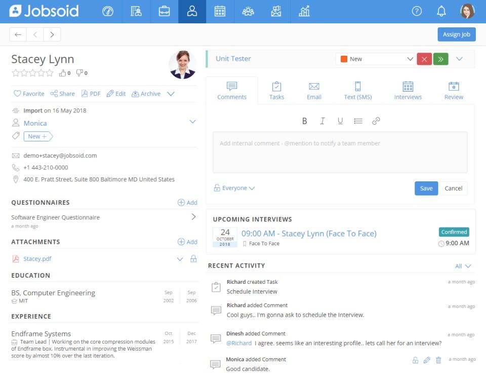 Jobsoid free software