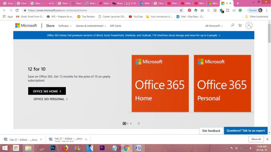 Microsoft online store