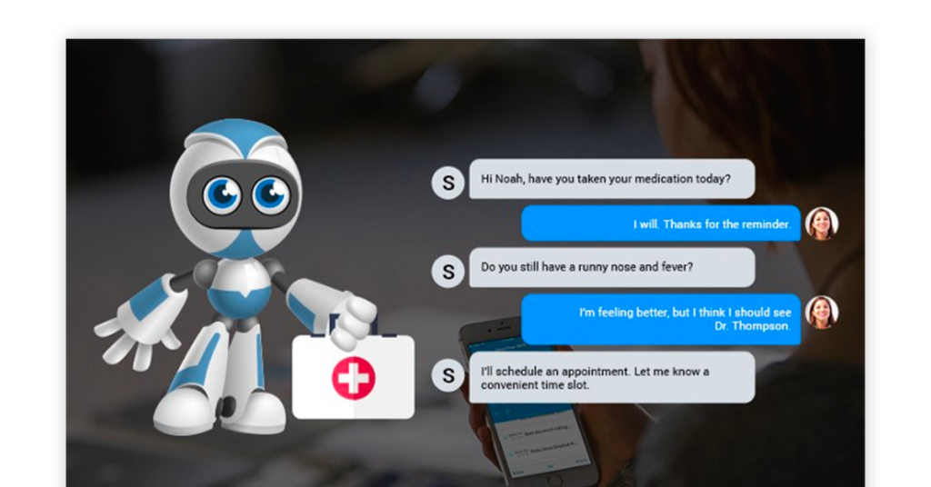 Chatbot Healthcare Image