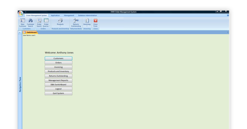 Order Management System Image