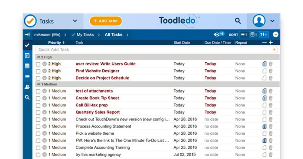 Toodledo Image