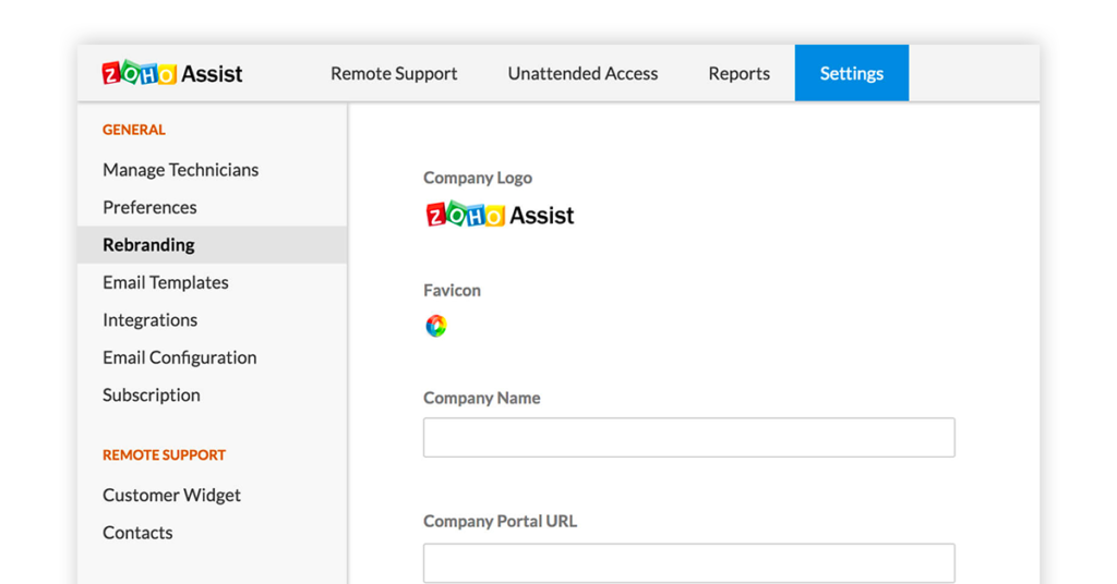 Zoho Assist Image