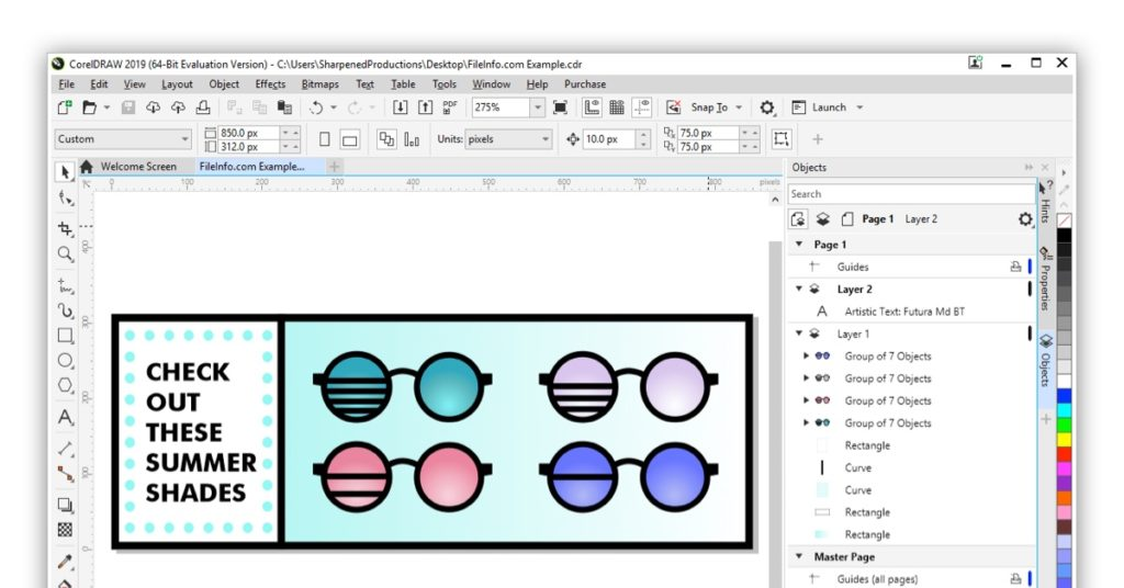 CoralDraw Graphics Suite 2019 Image