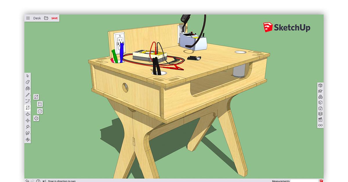 Google SketchUp Software Image