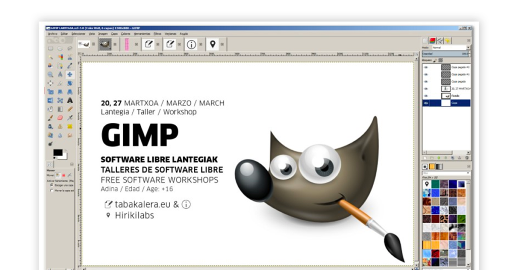 GIMP Software Image