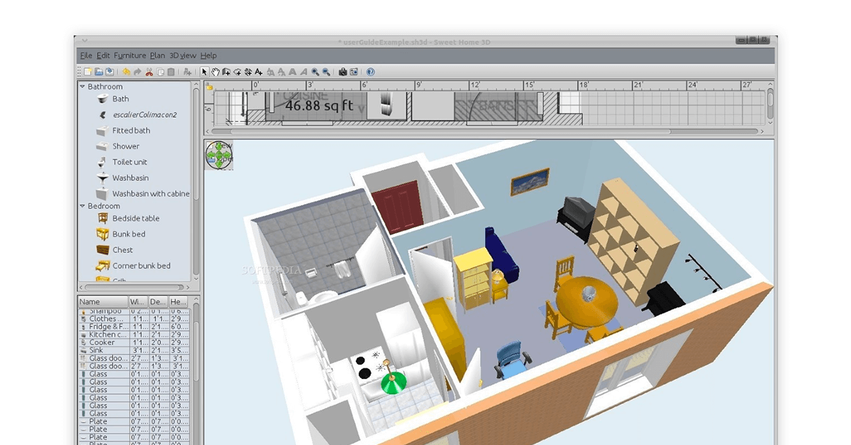 Top 10 Furniture Design Software 3d Furniture Design For Free