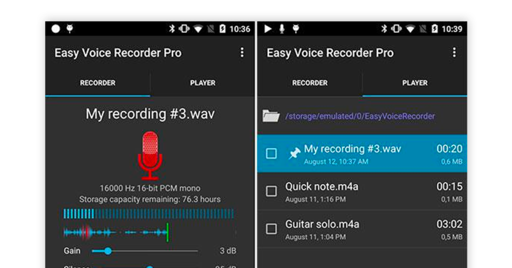 Easy Voice Recorder Image