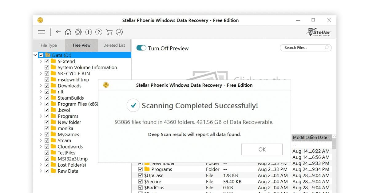 Stellar Data Recovery Free