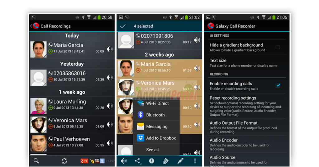 Galaxy Call Recorder Image