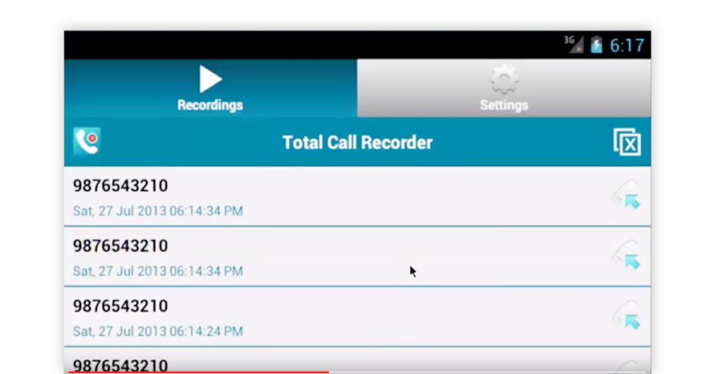 Total Call Recorder App