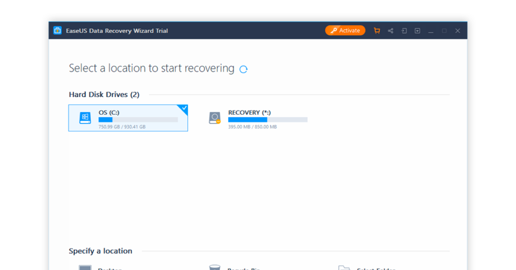 easeus data recovery wizard android