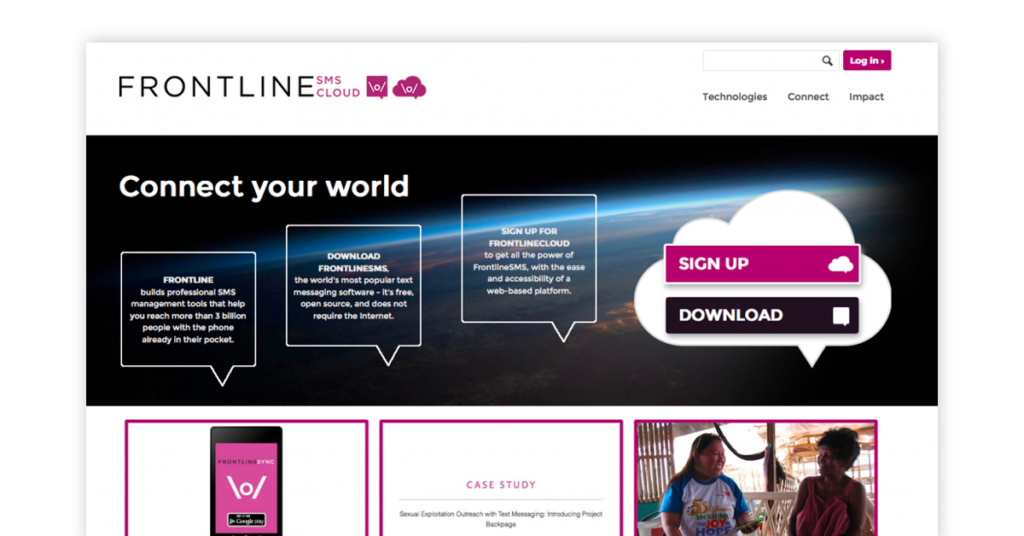 Frontline SMS Cloud