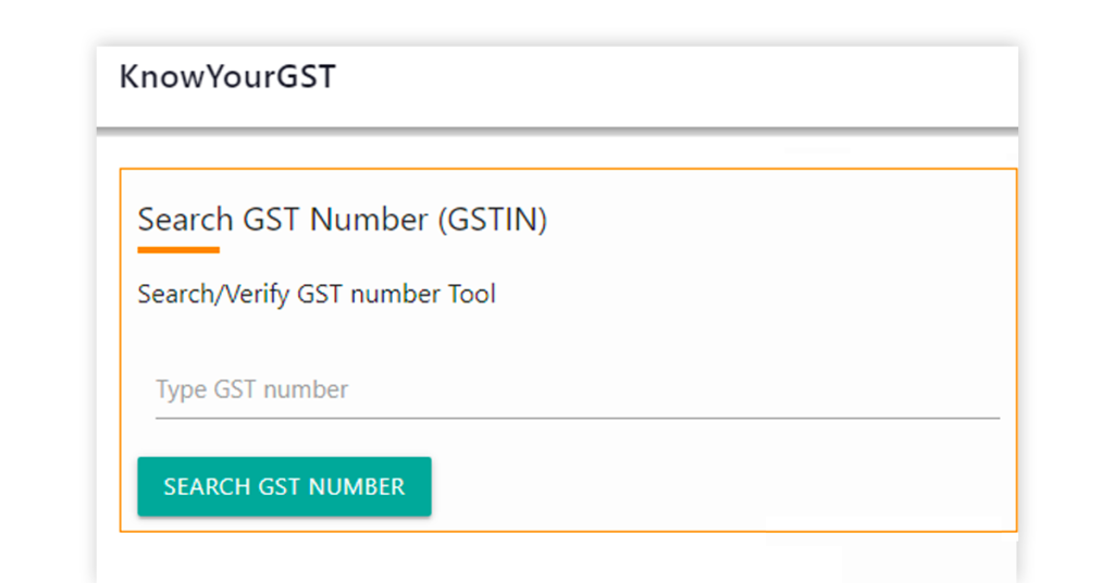 KnowYourGST Image