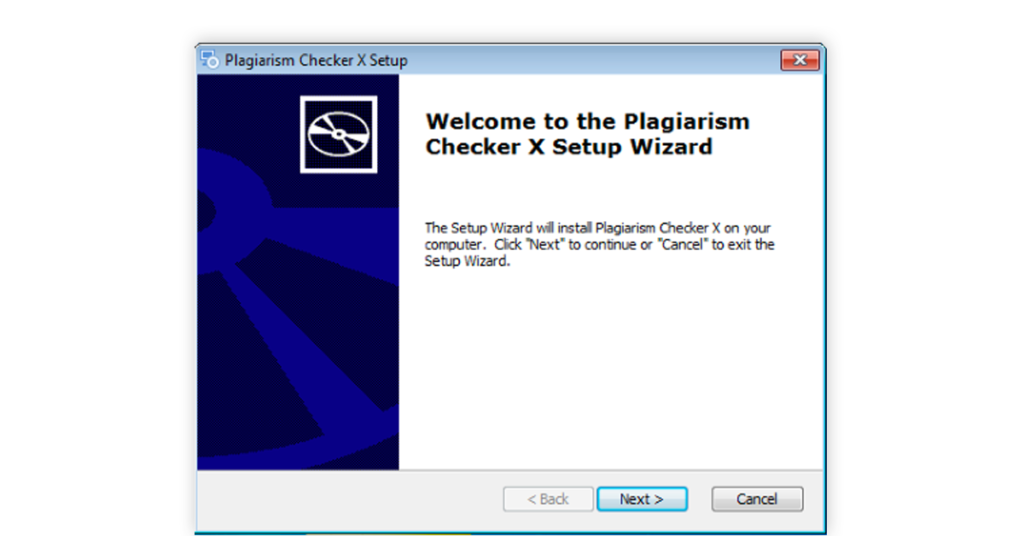 Step2: install free online plagiarism checker with percentage