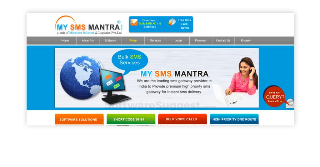 My SMS Mantra Bulk SMS free app
