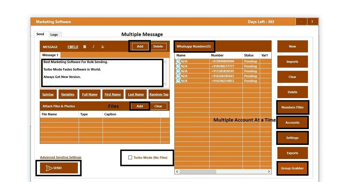 bulk WhatsApp sender tool