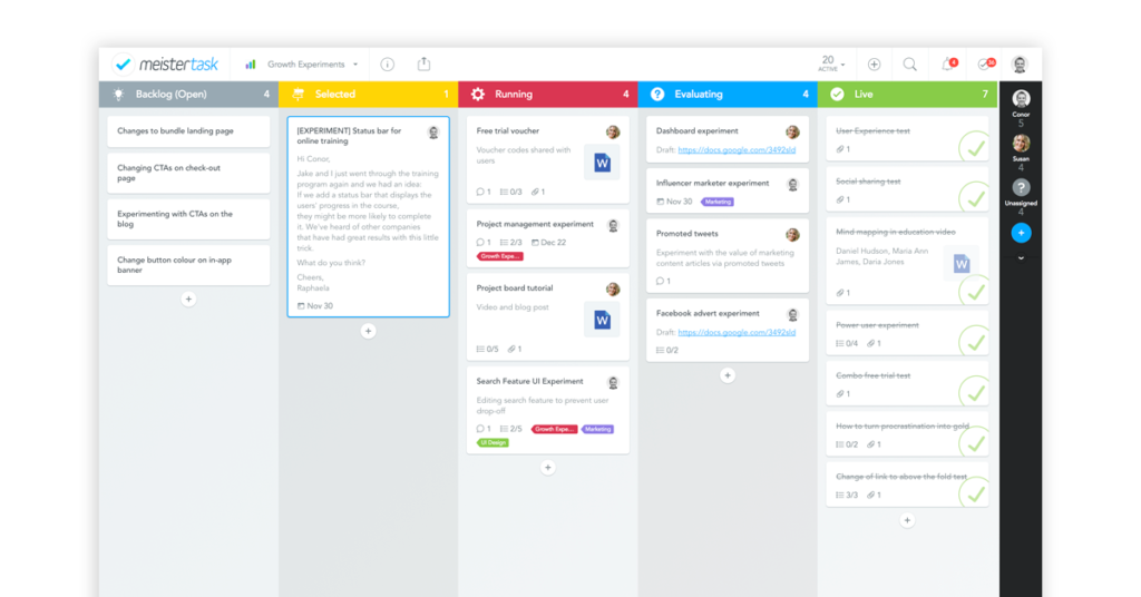 Project management software free