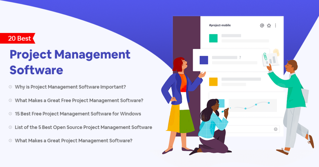 20 Best Free Open Source Project Management Software Tools