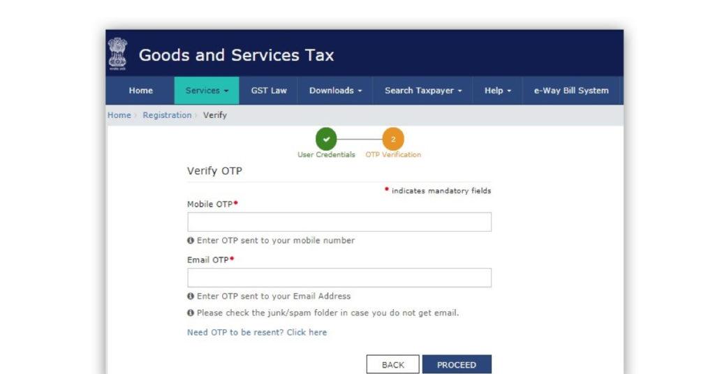 GST number verification