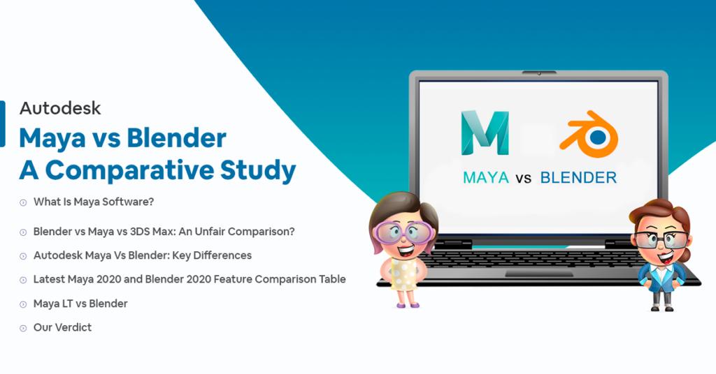autodesk maya vs blender