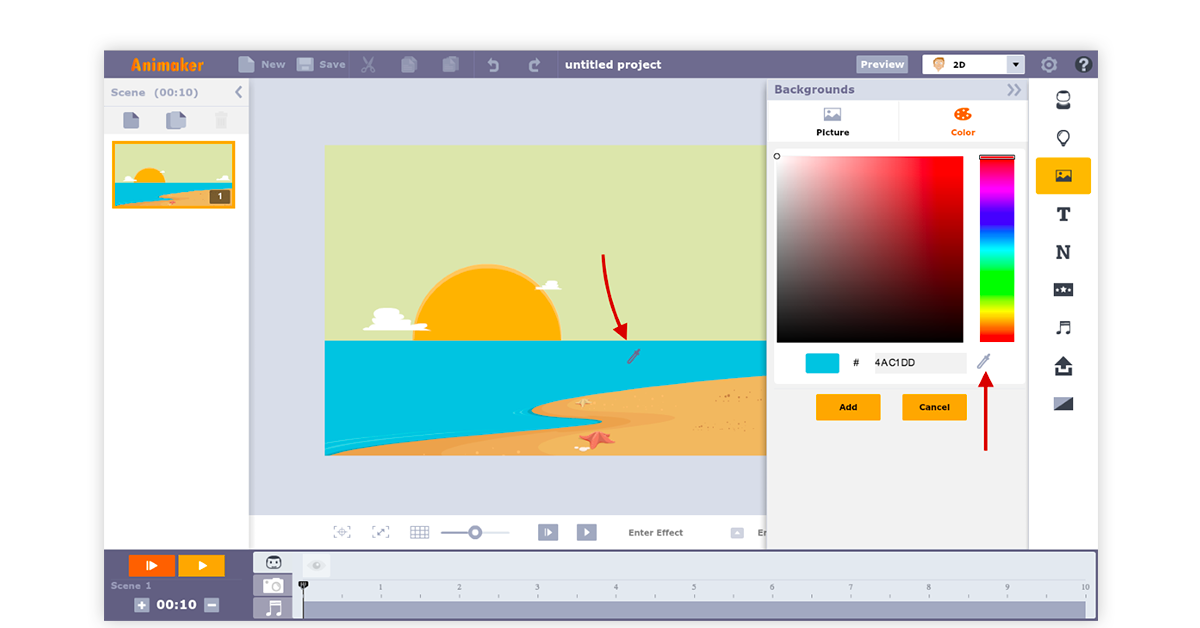 Free animation software for beginners