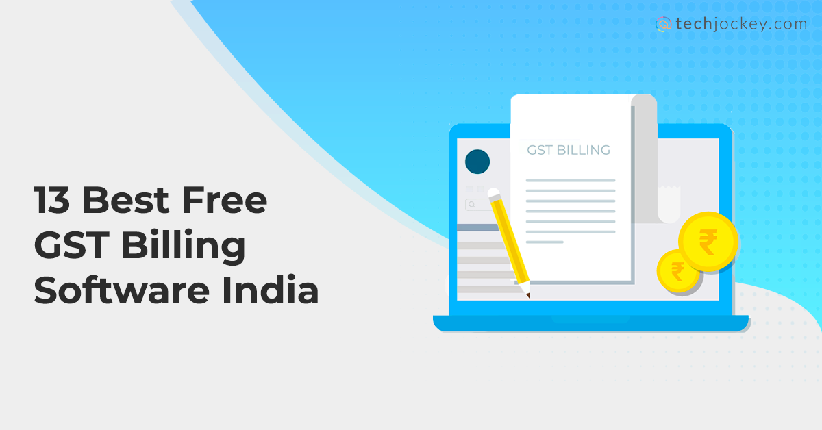 Free GST billing software