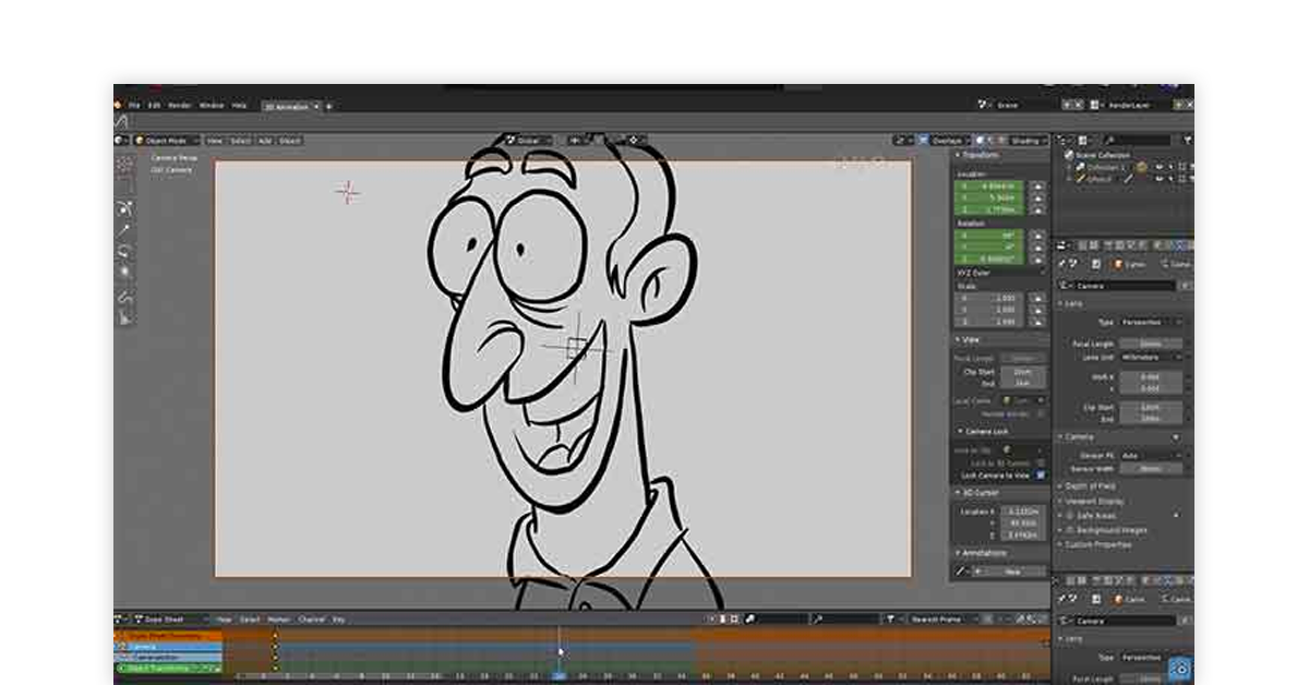 2D animation software for PC