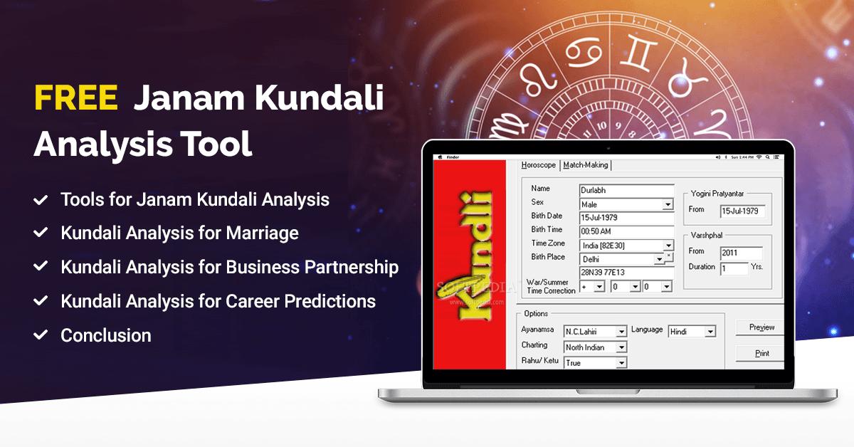 Free kundali analysis