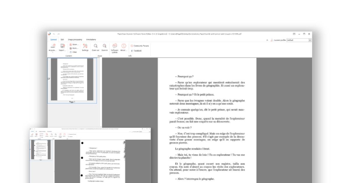 PDF scanner software