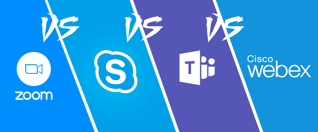 Zoom vs Skype vs Teams vs Webex