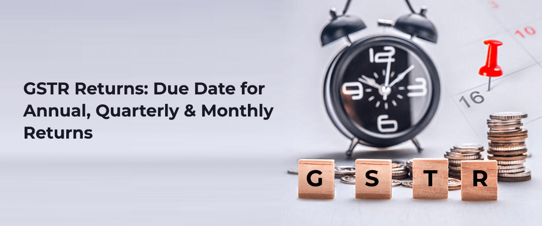 Types of GSTR Returns