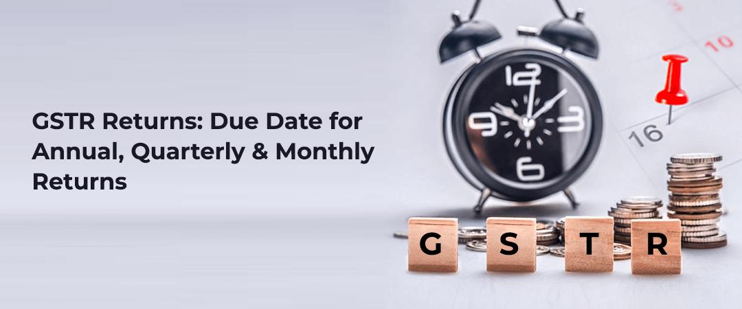Types of GSTR Returns