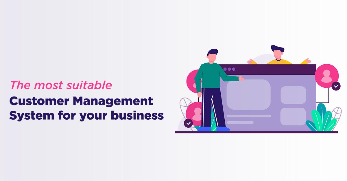 Customer management system