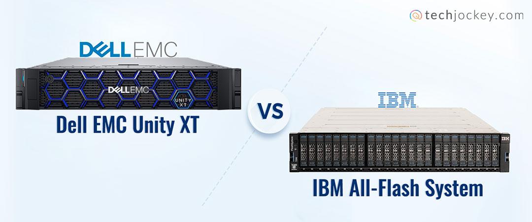 Dell EMC vs IBM All Flash Storage