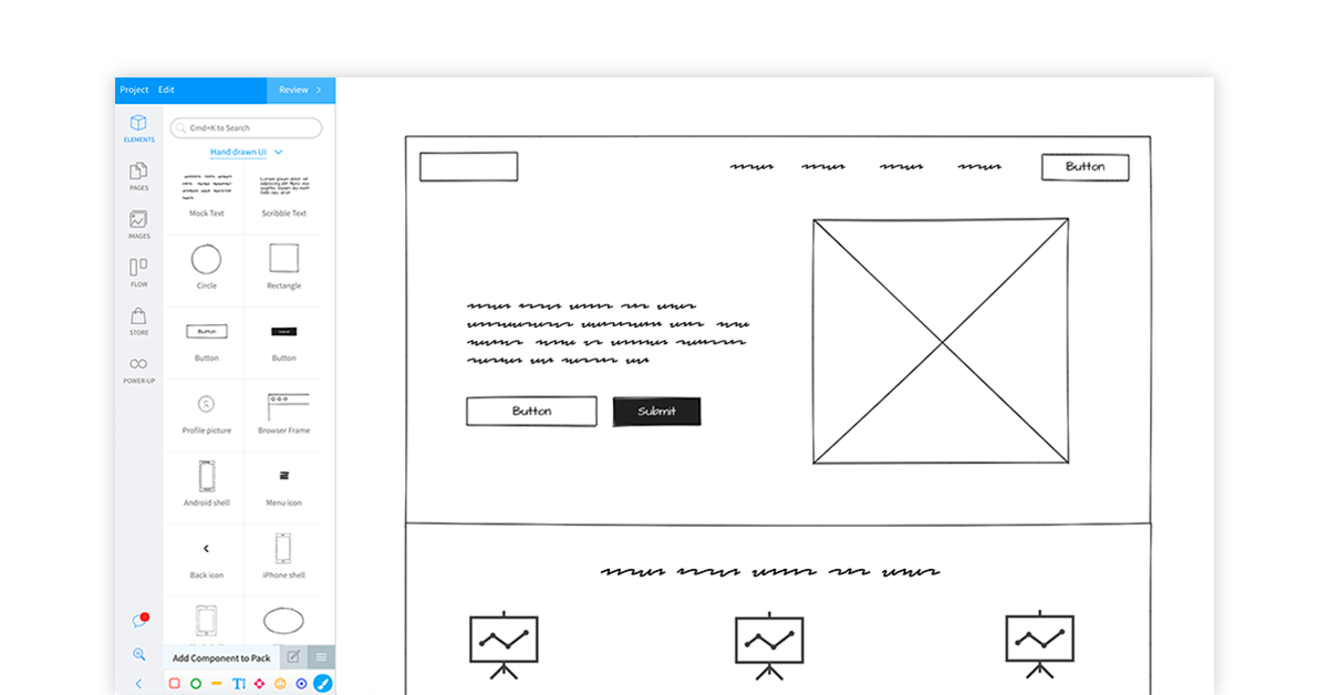 Free wireframe tools online