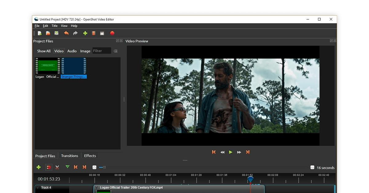 openshot video editor tool