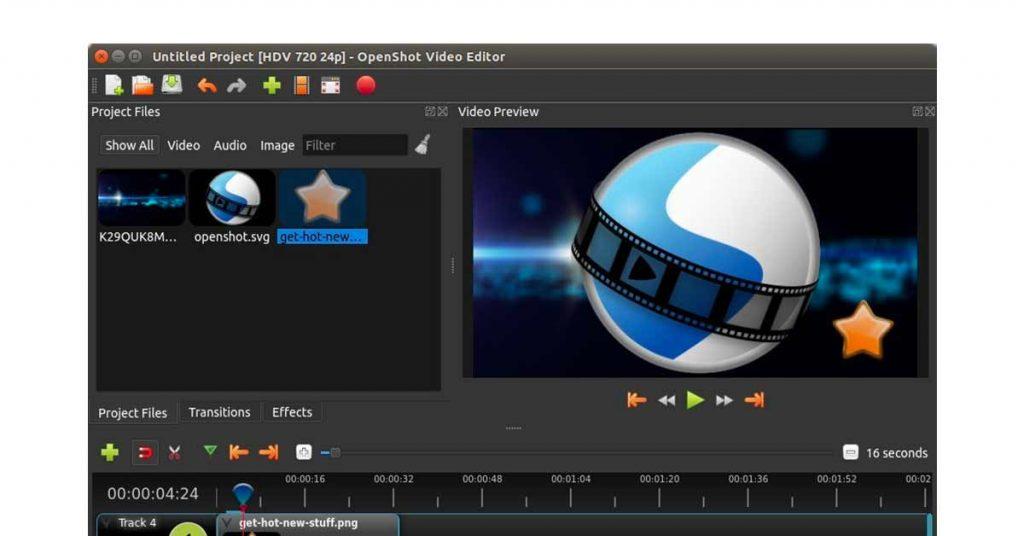 OpenShot video editing software for beginners