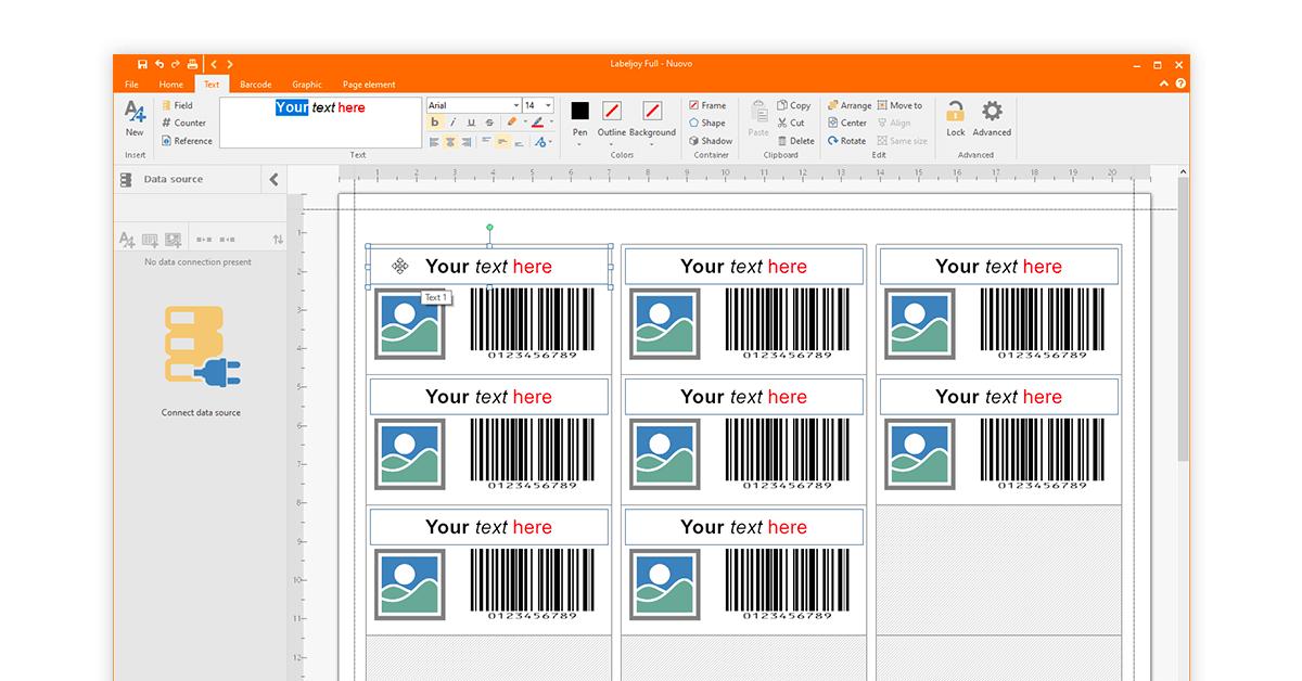 multiple barcode generator